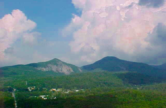 A breathtaking view you will find in Cashiers, NC